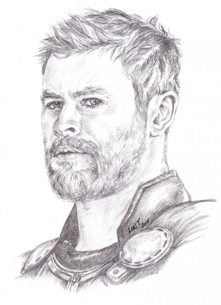 Chris Hemsworth by LoriT